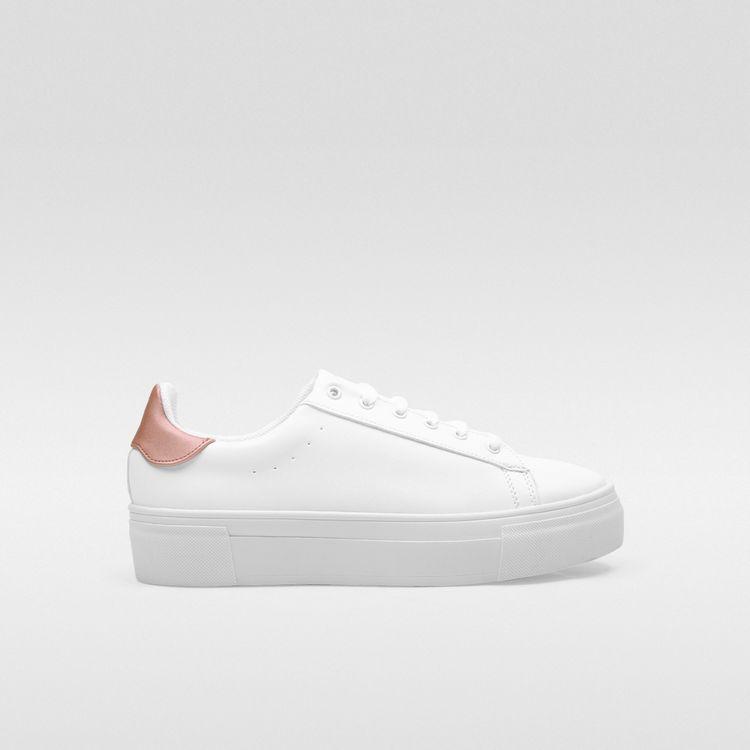 mejor proveedor apariencia estética a juego en color Tenis Blanco Agujetas para Mujer | Dorothy Gaynor® - Tienda ...