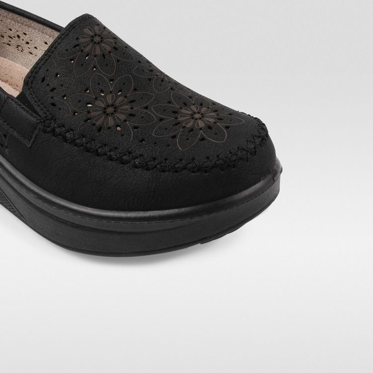 Dooxii Mujer Ocasionales Antideslizante Loafer Zapatos Moda Cord/ón Planos Alpargatas
